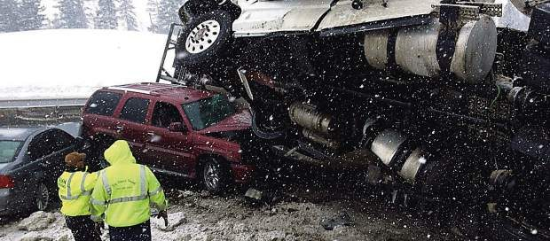 i70 closed due to truck driving accident