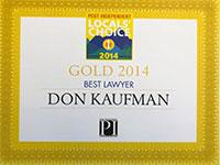 Local's Choice Best Attorney 2014