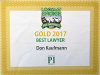 Local's Choice Best Attorney 2017