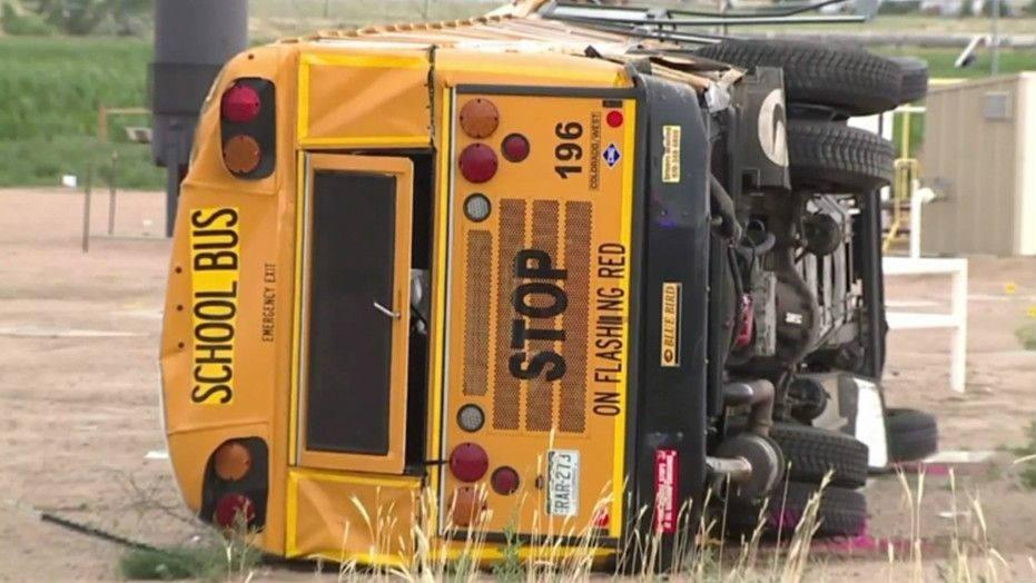 Colorado School Bus Accident Caused by Drowsy Driver