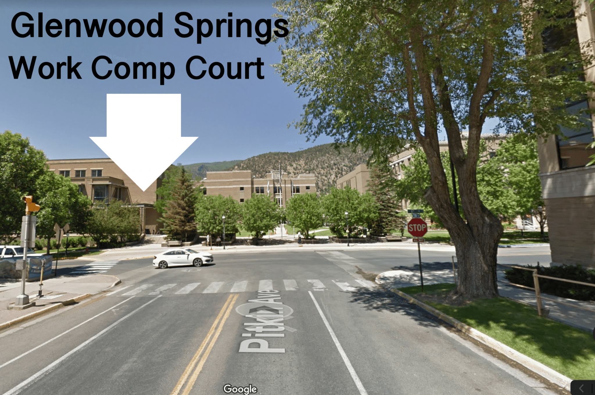 Colorado Workers' Compensation Courtroom - Glenwood Springs